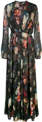 ADAM by Adam Lippes floral print long dress