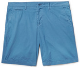 Burberry - Brit Slim-fit Washed-cotton Shorts