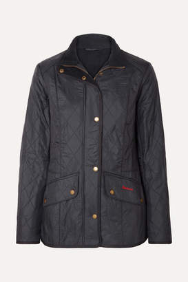 Barbour Cavalry Quilted Shell Jacket - Navy
