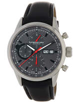 Raymond Weil Men's Chronograph Leather Watch