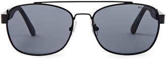 Tommy Hilfiger Brendan Matte Black Rectangle Sunglasses