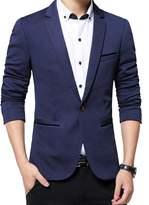 Benibos Men's Slim Fit Casual Premium Blazer Jacket (S, )