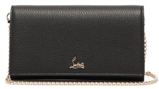 Christian Louboutin Boudoir Grained-leather Belt Bag - Black Multi