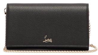 Christian Louboutin Boudoir Grained-leather Belt Bag - Womens - Black Multi