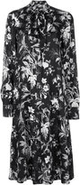 McQ by Alexander McQueen floral print shirt dress - women - Polyester - 38