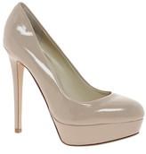 Aldo Monier Nude Platform Court Shoes