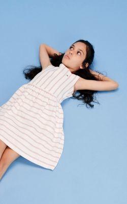 Tommy Hilfiger Stripe Sleeveless Dress