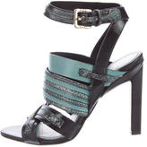 Jason Wu Leather Multistrap Sandals