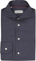 Eton Slim fit micro-dots cotton shirt