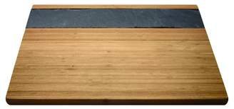 Vinotemp Epicureanist Bamboo & Slate Cheese Serving Tray