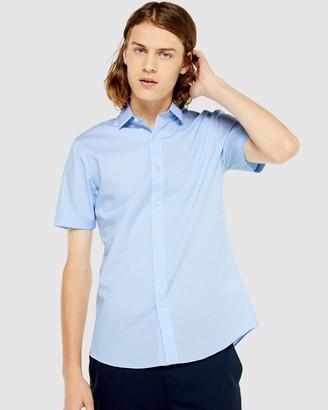 Topman Stretch Skinny Shirt