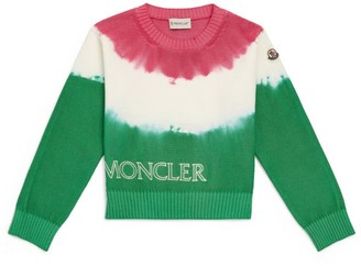 Moncler Kids Cotton Knitted Sweater (12-14 Years)