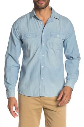 Frame Chambray Slim Fit Shirt
