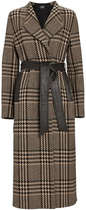 Mackage Rosa Plaid Wrap Coat