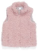 Cotton Emporium Toddler Girl's Faux Fur Vest