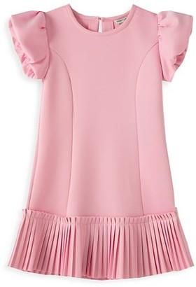 Habitual Little Girl's Shine Ponte Dress