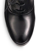 Reed Krakoff Leather Lace-Up Oxford Pumps