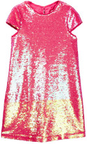 Milly Minis Sequin Cap Sleeve Dress (Big Girls)