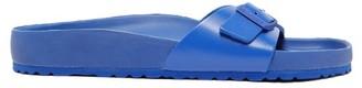 Birkenstock 1774 - Madrid One-strap Leather Sandals - Mens - Blue