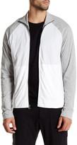 James Perse Colorblock Zip Up Performance Jacket
