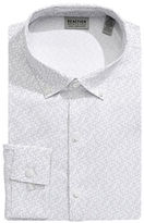 Kenneth Cole Reaction Slim Fit Non Iron Micro Dot Dress Shirt