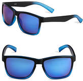 Izod 57mm Ombre Wayfarer Sunglasses