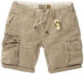 DSTREZZED - Men's Combat Shorts - Khaki