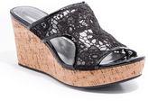 Andrew Geller Danika Slip-On Wedge Sandals
