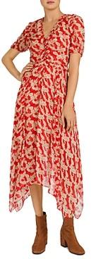 The Kooples Volute Maxi Shirt Dress