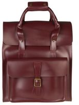 Dr. Martens New Mens Red Small Leather Backpack Backpacks