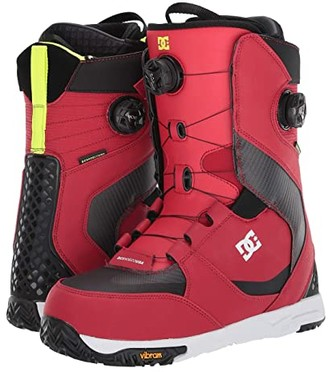 DC Shuksan Dual BOA(r) Snowboard Boots (Racing Red) Men's Snow Shoes