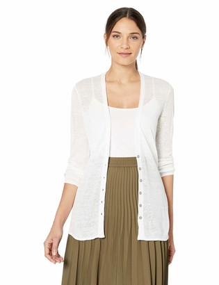 Nic+Zoe Women's Petite New Back of The Chair Cardy