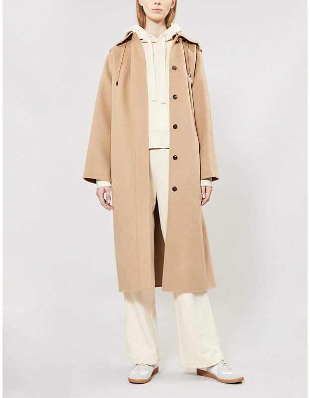 a3a190281fd Belted Camel Coat - ShopStyle