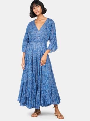 Rhode Resort Emily Kimono Sleeve Midi Dress