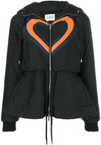 Iceberg heart panelled puffer jacket