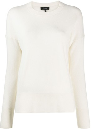 Theory Long-Sleeve Cashmere Jumper
