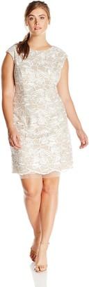 Alex Evenings Women's Short Cap Sleeve Dress