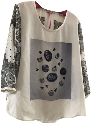 Maison Scotch White Top for Women