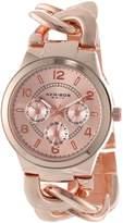 Akribos XXIV Women's AK531RG Ultimate Multi-Function Twist Chain Quartz Watch