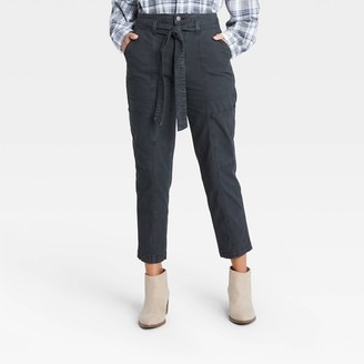 Universal Thread Women's High-Rise Tapered Cropped Pants - Universal ThreadTM