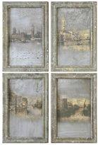 Uttermost Venetian Views 4-piece Framed Wall Art Set
