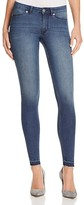 Cheap Monday Spray Skinny Released Hem Jeans in Fall Blue