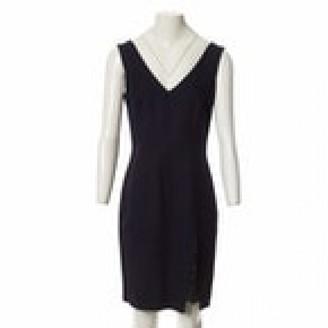 John Galliano Navy Viscose Dresses