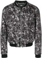 Versus tropical print bomber jacket