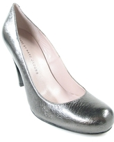Marc By Marc Jacobs - Women's Silver Lame' Pig Heel