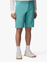 HUGO BOSS BOSS Schino Slim Fit Chino Shorts, Turquoise/Aqua