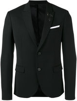 Neil Barrett classic blazer - men - Virgin Wool/Polyester/Spandex/Elastane/Viscose - 50