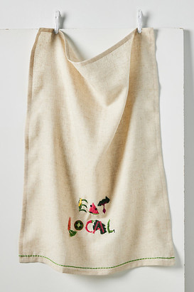 Anthropologie Eat Local Dish Towel By in Assorted Size DISHTOWEL