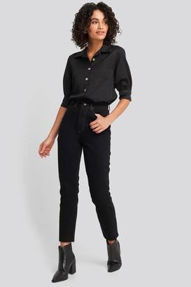 Trendyol High Waist Mom Jeans Black