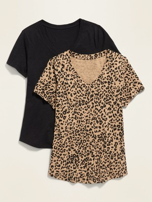 Old Navy EveryWear V-Neck Tee 2-Pack for Women